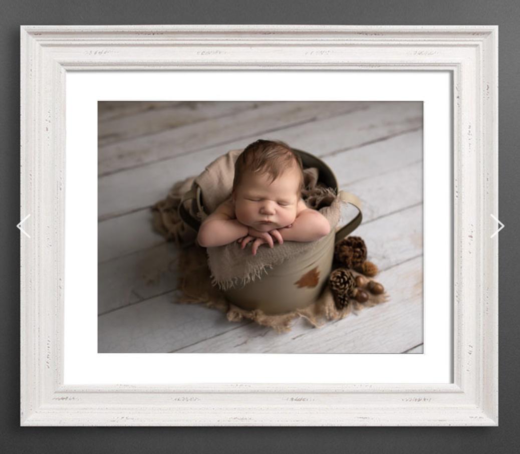 "Newborn Session products: 16""x 12"" stunning framed wall art"