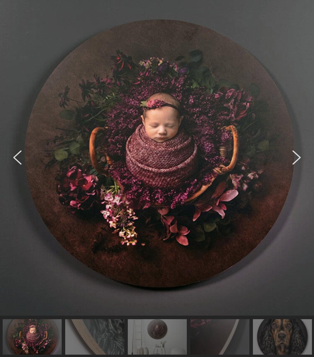 "Newborn Session products: 20"" Birch Sphere"