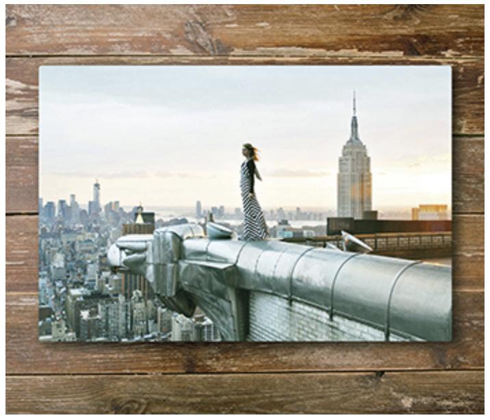 "Newborn Session products: Exquisite Aluminium Wall Art - 18"" x 12"""