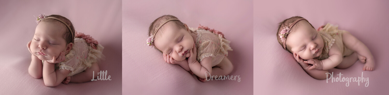 Gold Newborn Photography Session
