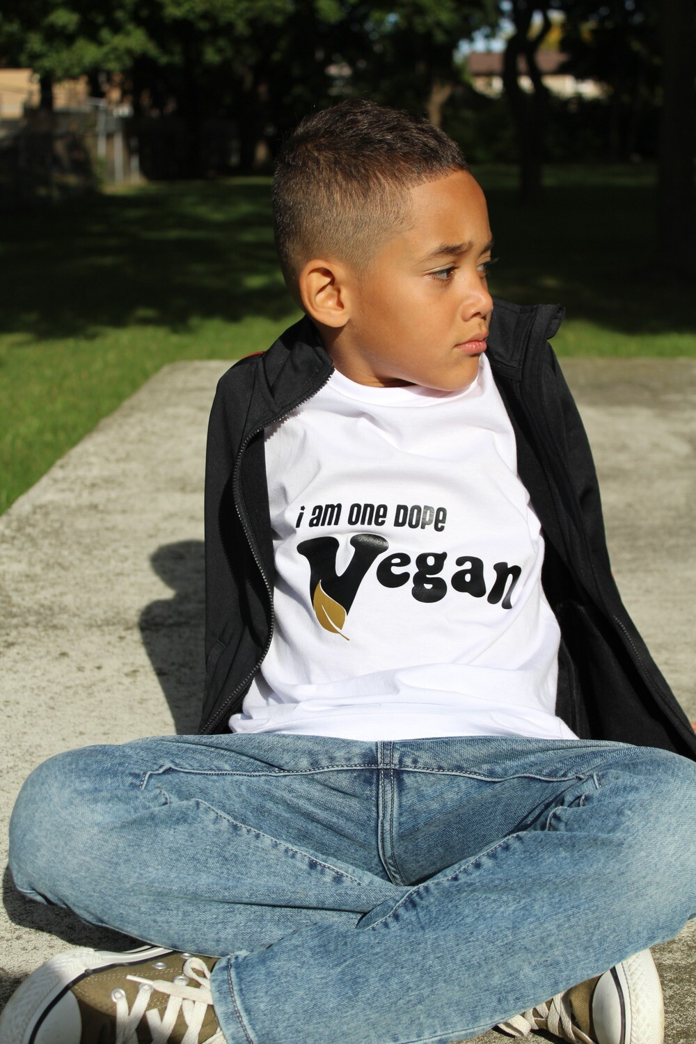 I am one dope Vegan - Kids Tees