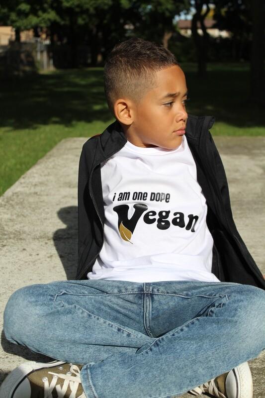 I am one dope Vegan - Kids Tees