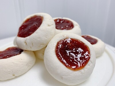 ​Strawberry Thumbprints (Half Dozen)