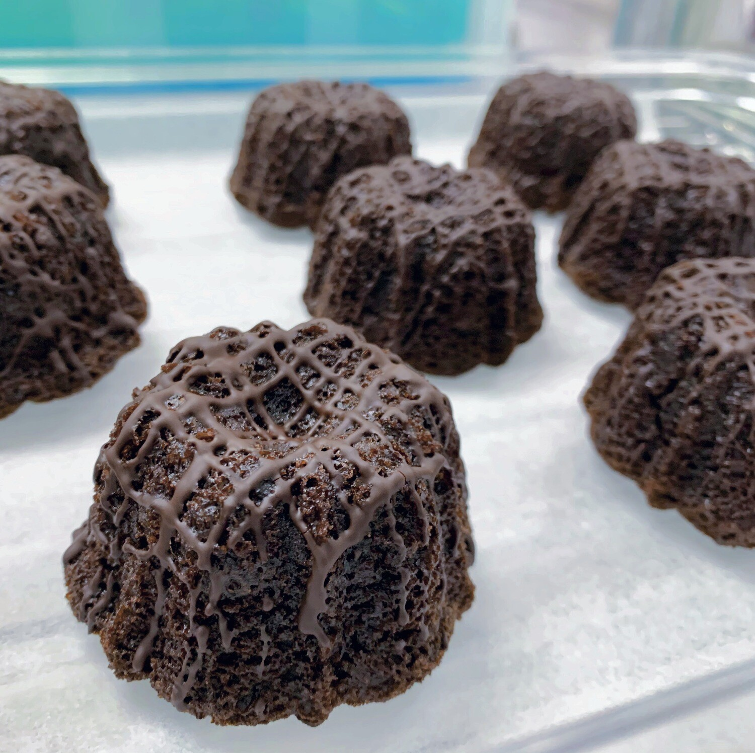​Chocolate Baby Bundts (Half Dozen)
