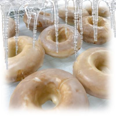 Frozen Glazed Cake Donuts (Individual)