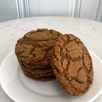 Ginger Molasses Cookies (Half Dozen)