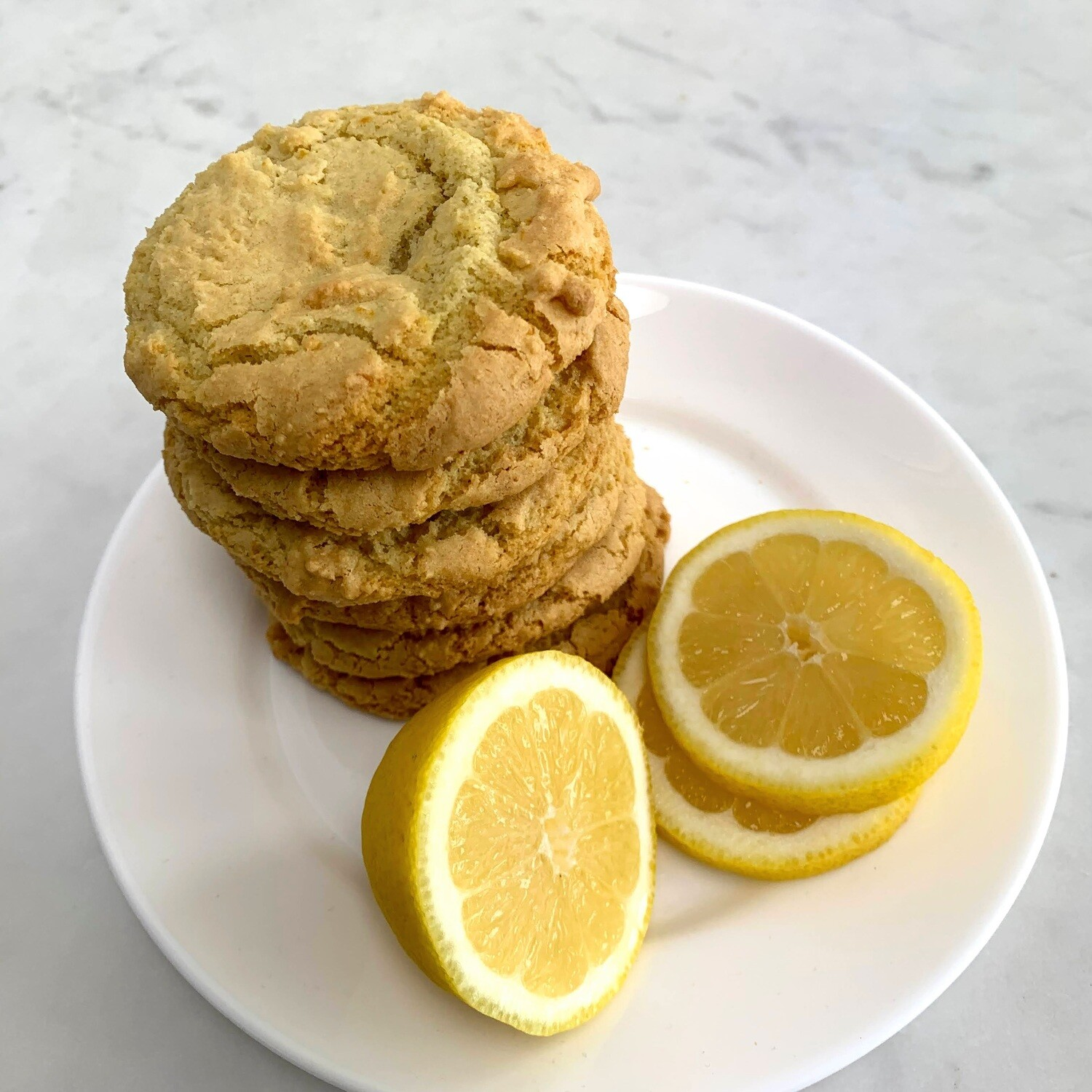 ​DF Lemon Olive Oil Cookies (Half-Dozen)