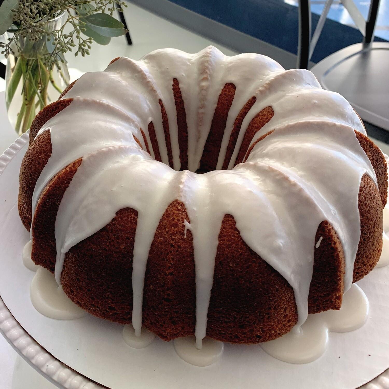 Vanilla-Almond Bundt Cake, Many Sizes - THXGIVING ONLY FOR 11/24 or 11/25