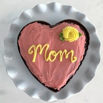 I Heart Mom Cake (DF available)