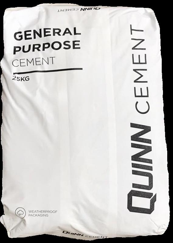 Quinn Cement (25kg Waterproof bag)