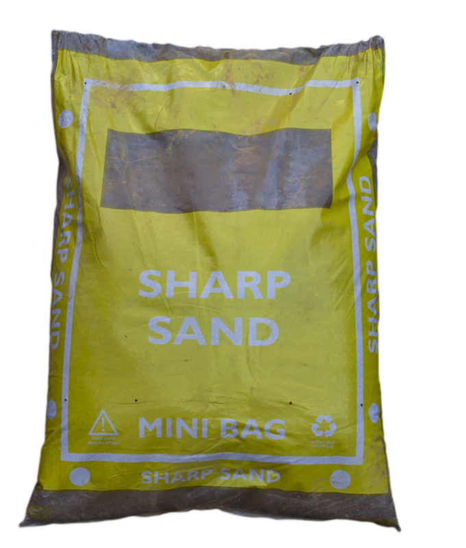 Sharp Sand 25kg (mini bag)
