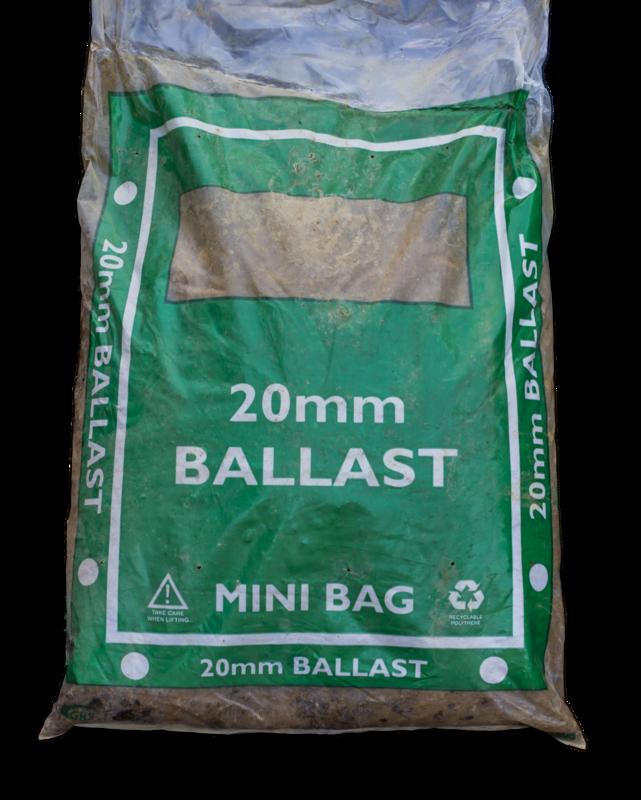 20mm Ballast 25kg (mini bag)