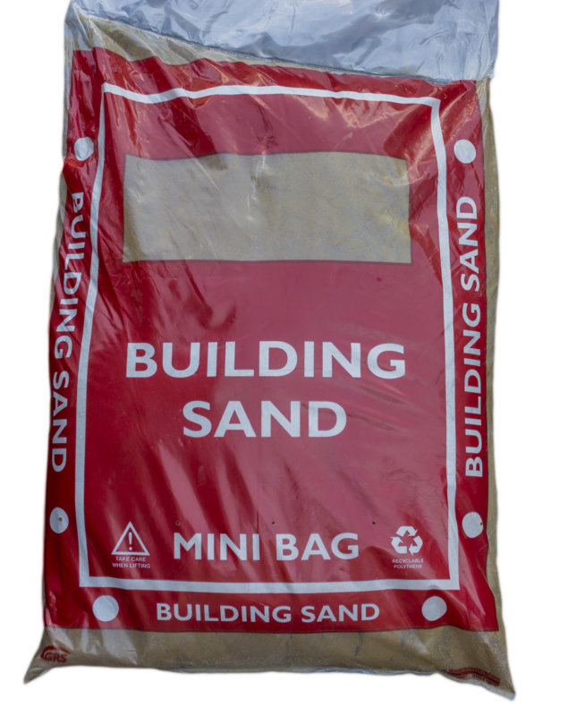 Building sand 25kg (mini bag)