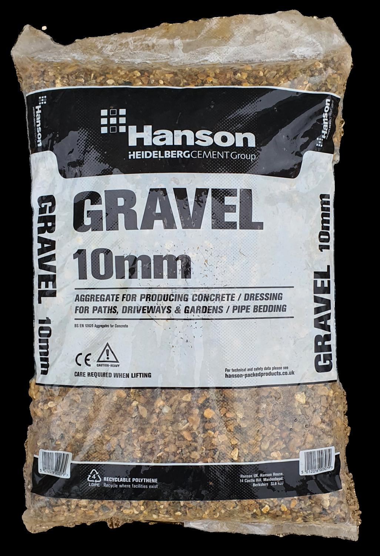 Hanson 10mm Gravel 25kg Bag