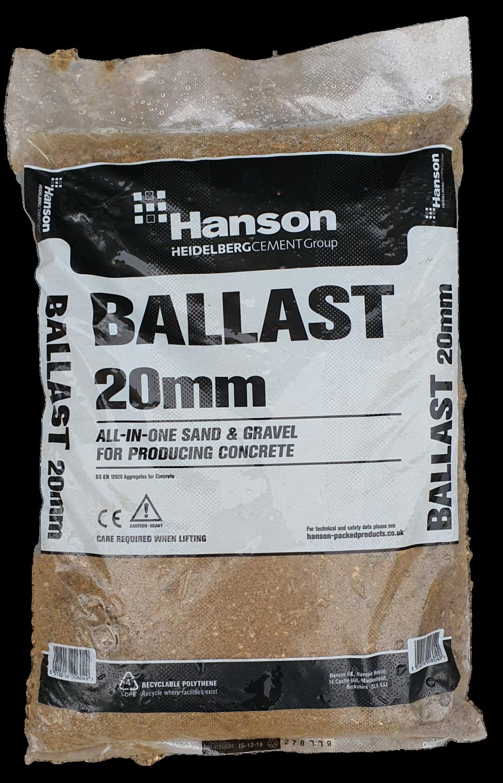 Hanson 20mm Ballast 25kg Bag