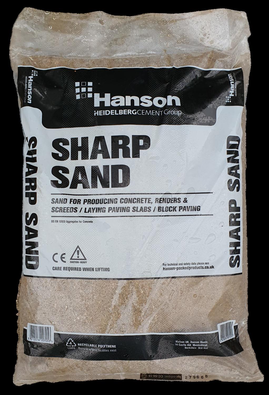 Hanson Sharp Sand 25kg Bag