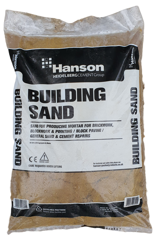 Hanson Building sand 25kg Bag