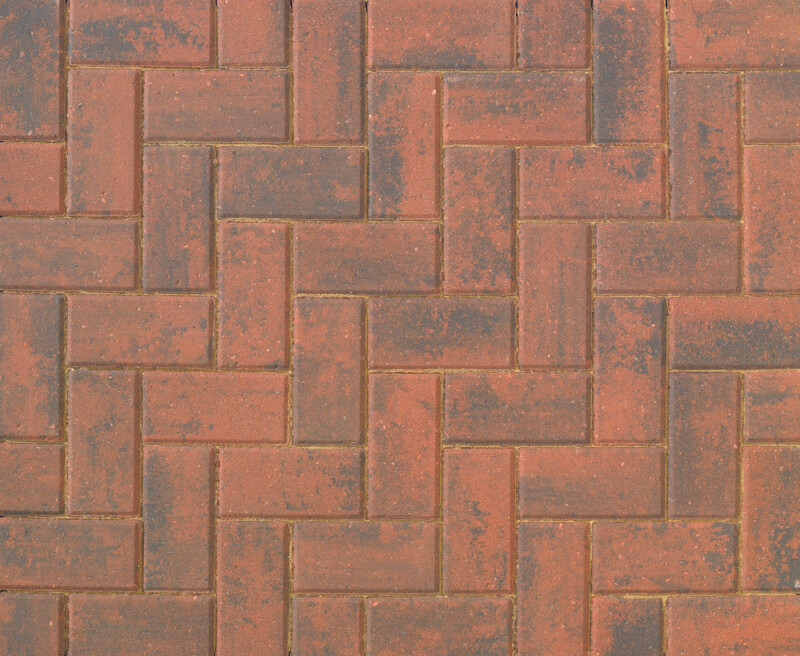 Bretts Omega Brindle Block Paving 9.76m2