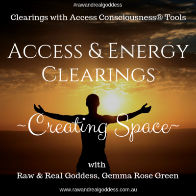 Energy Clearing for Creating Space