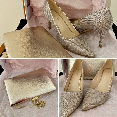 Shoes & Clutch Set