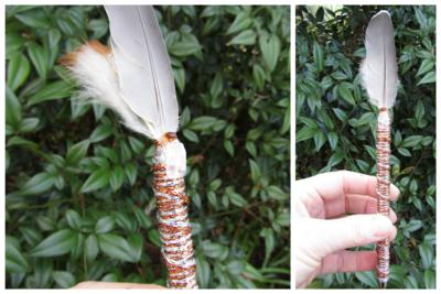 Bronze Glow, Feather Pen