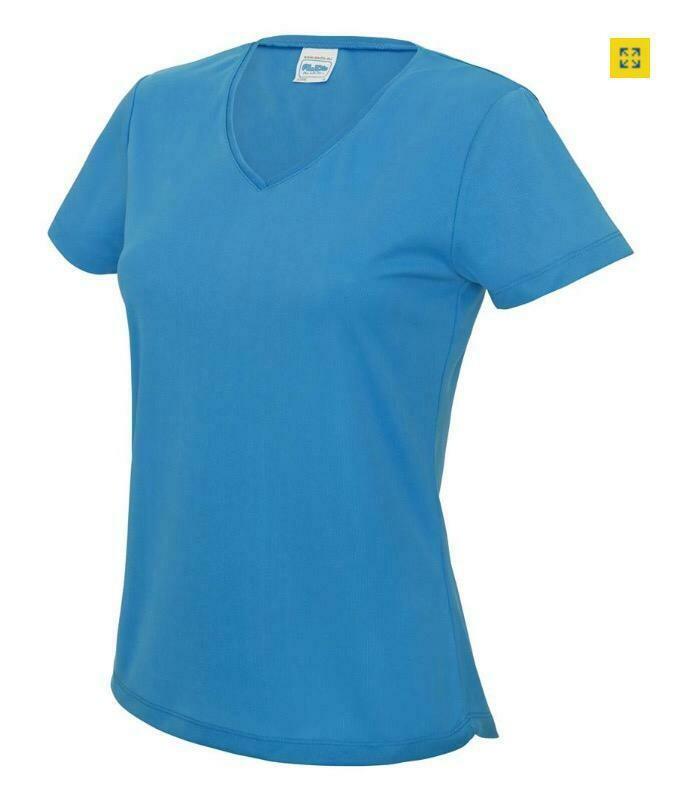 Club T-shirt vrouwen V-hals