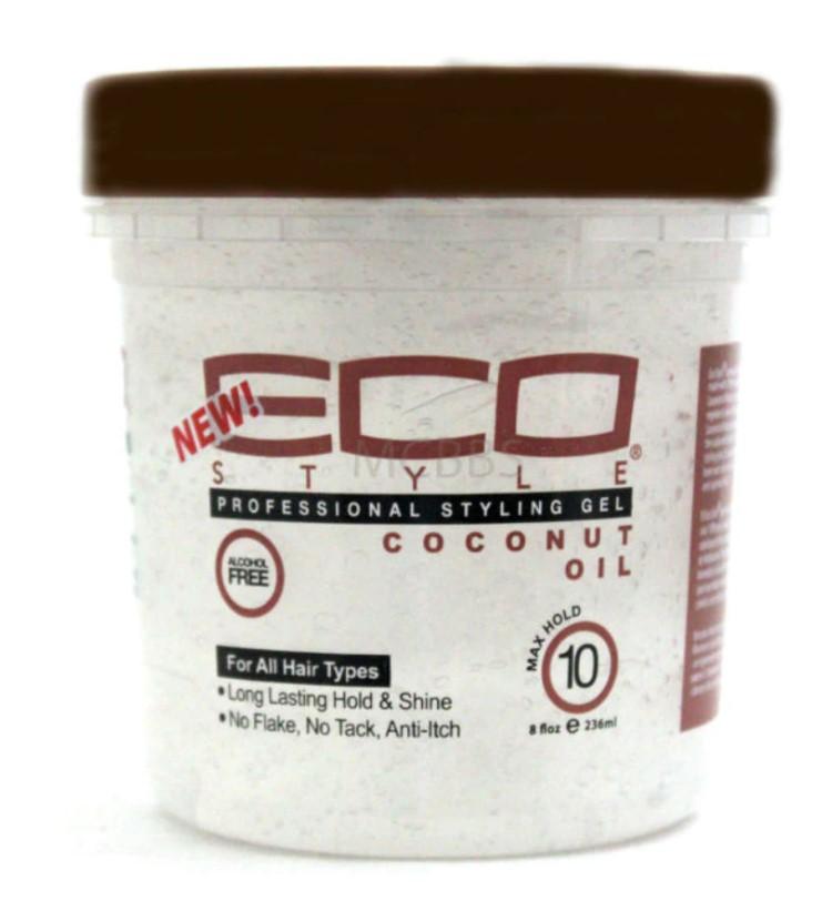 8oz ECO Coconut Oil Professional Styling Gel 8oz: $2.99