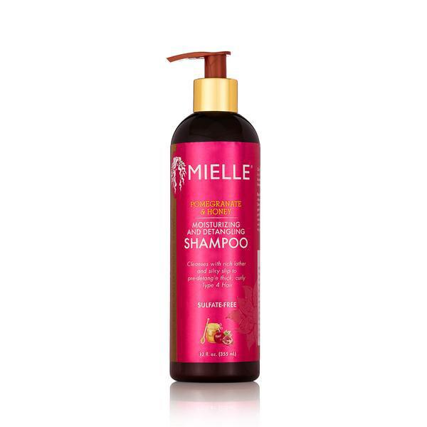 MIELLE Pomegranate & Honey Moisturizing and Detangling Shampoo: $13.29