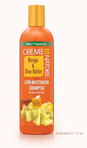 CON21931 Creme of Nature Mango & Shea Butter Ultra Moisturizing Shampoo 12 fluid ounces $5.99