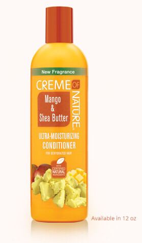 8.45 fl oz Creme of Nature Mango & Shea Butter ultra moisturizing Leave In Conditioner:$5.99