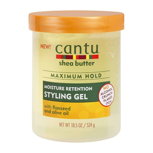 CANTU Styling Gel Flaxseed and Olive Oil: $6.99