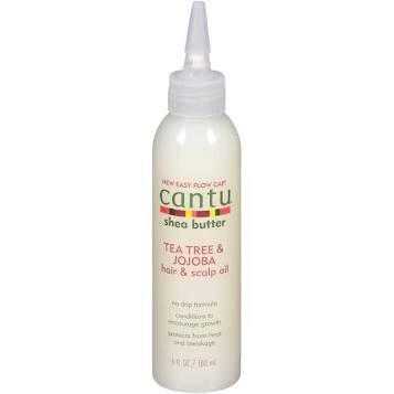 Cantu Shea Butter Tea Tree & Jojoba hair & scalp oil 6fl oz: $6.99
