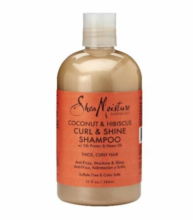 Shea moisture coconut and hibiscus shampoo 13 ounces