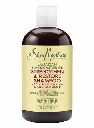 Shea Moisture  Jamaican black castor oil strengthen and restore shampoo 13 fluid ounces $13.89