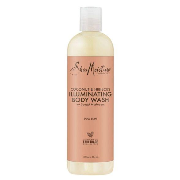 Shea Moisture illuminating body wash coconut & hibiscus 13 fluid ounces $8.99