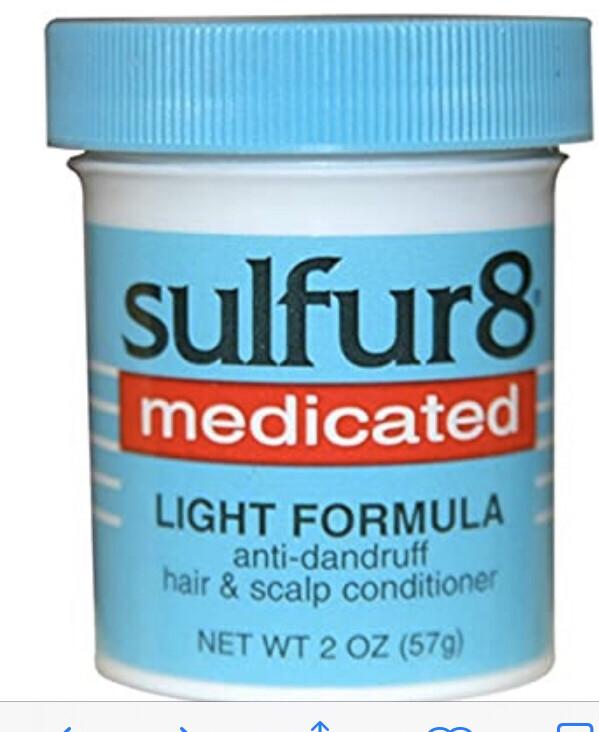 Sulfur 8 medicated light formula $3.99
