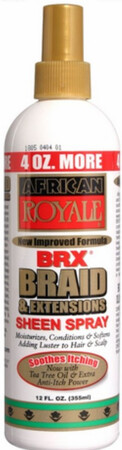 African Royale BRX Braid & Extensions Sheen Spray: $5.99