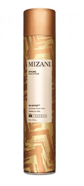 Mizani Finish and polish lightweight sheen spray