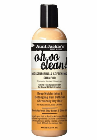 AUNT JACKIES OH SO CLEAN moisturizing and softening shampoo $9.39