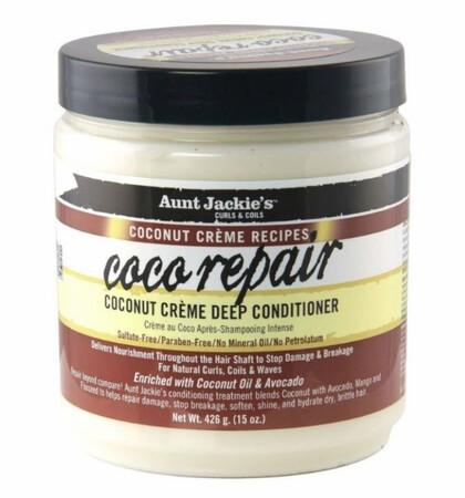 Aunt Jackie's Coco Repair  Coconut Creme Deep Conditioner $9.99