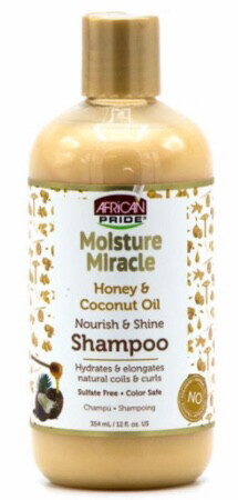 African Pride Honey and Coconut Nourish and Shine Shampoo $6.99