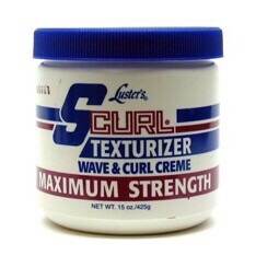 Lusters s curl texturized wave & curl creme maximum strength 15 oz