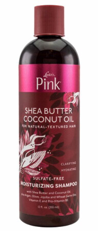 Luster's Pink Shea Butter Coconut Oil sulfate Free Shampoo 12 ounces $5..99