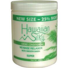 Hawaiian Silky Creme Conditioning no base relaxer $5.99