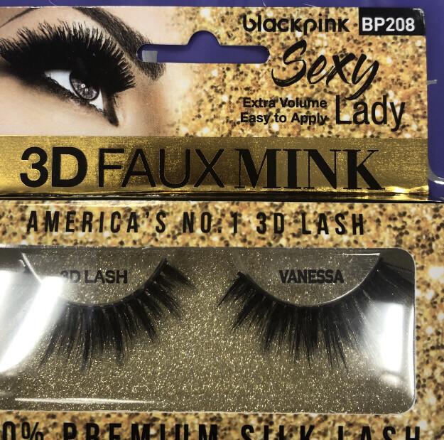 3D Faux Mink Eyelashes Sexy Lady BP208 Vanessa