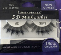 Retrotress 5D Mink Eyelashes S543
