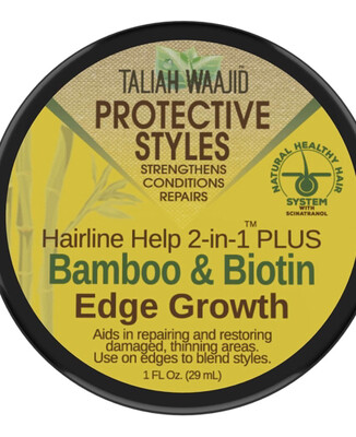 Taliah Waajid Bamboo & Biotin Edge Growth 1oz :$4.99