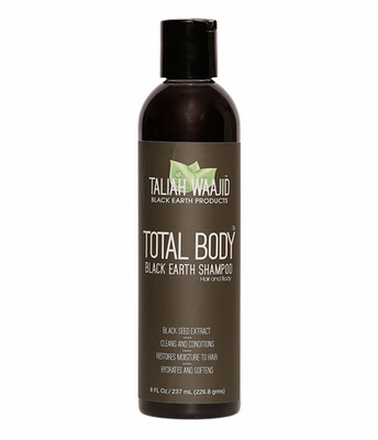 Taliah Waajid  Total Body Black Earth Shampoo $7.99