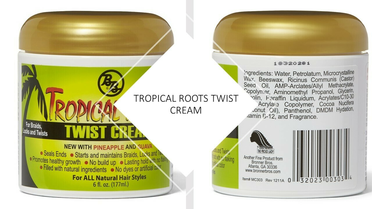 Tropical Roots Twist Cream 6oz: $4.99