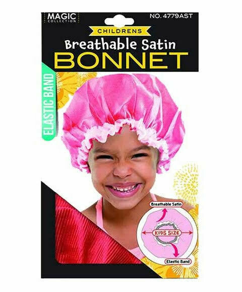 4779| MAGIC Collection Children's Breathable Satin Bonnet $2.99